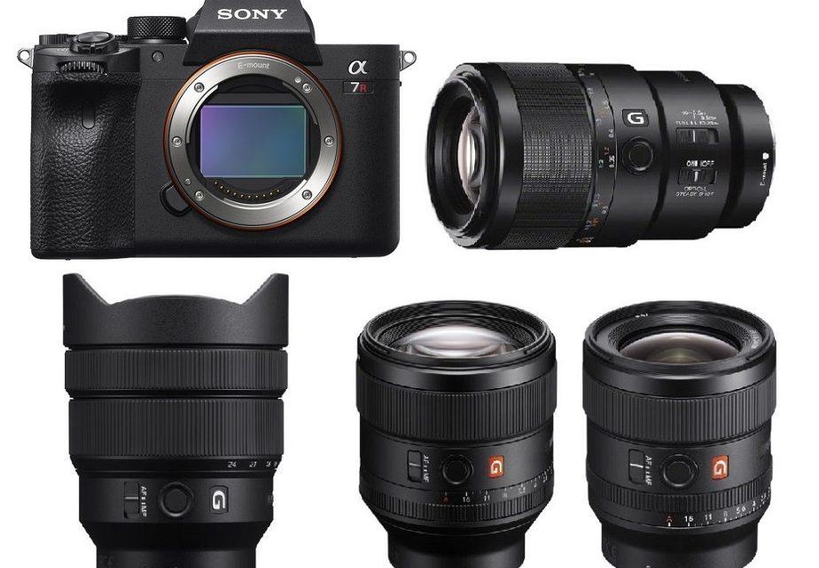 Les meilleurs objectifs pour le Sony a7R IV