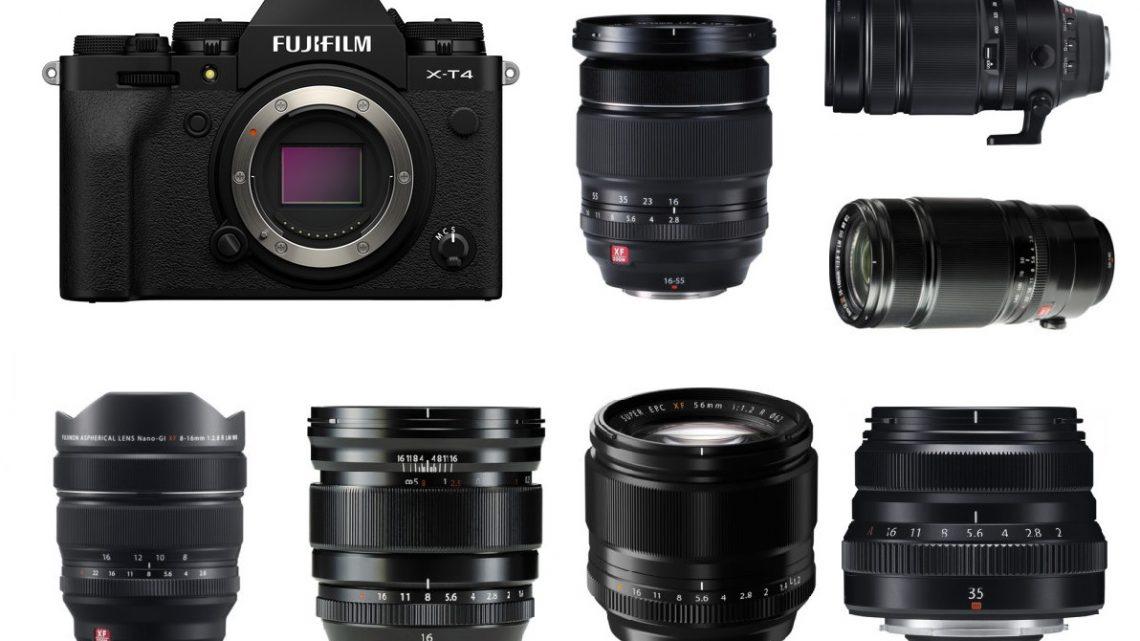 Les meilleurs objectifs pour le Fujifilm X-T4
