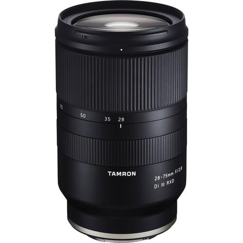Tamron 28-75mm f/2.8 Di III RXD | Meilleurs objectifs recommandés pour le Sony a7R IV