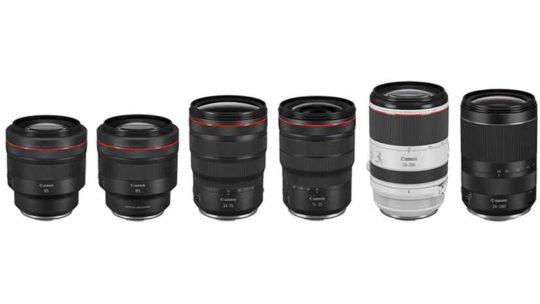 Nouveaux objectif Canon 2020