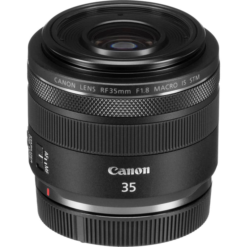 Canon RF 35mm f/1.8 IS Macro STM pur l'hybride Canon R5