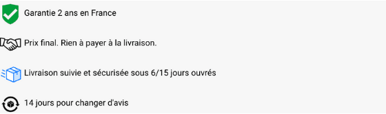commentaire MCZ DIRECT