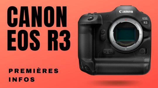 Canon R3 fiche technique